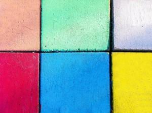 氣質で用いる4つの色は行動、表現を表す