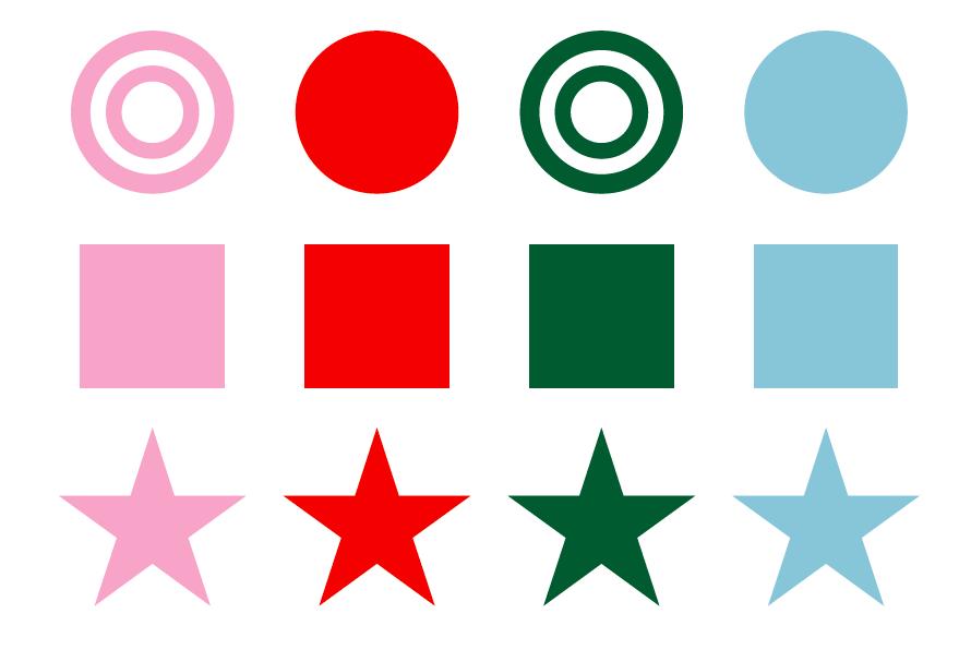 氣質学のシンボルとカラー